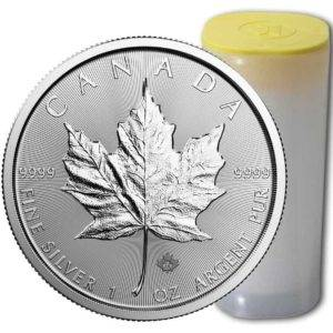 Canada-Silver-Maple-Leaf-Coin-Tube-300x300